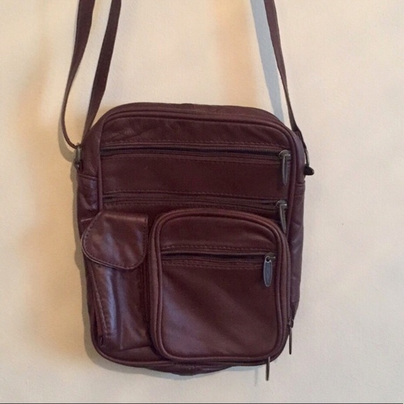 c40a7d5d5 Wang Cai Hua Bags | Sold On Depop Brownmaroon Crossbody Bag | Poshmark